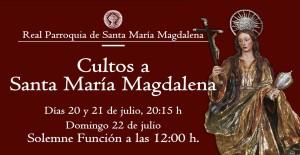 Tríduo a Santa María Magdalena